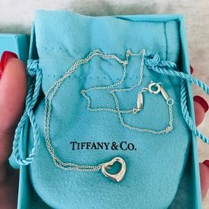 Tiffany & Co. open heart pendant (Elsa Peretti)